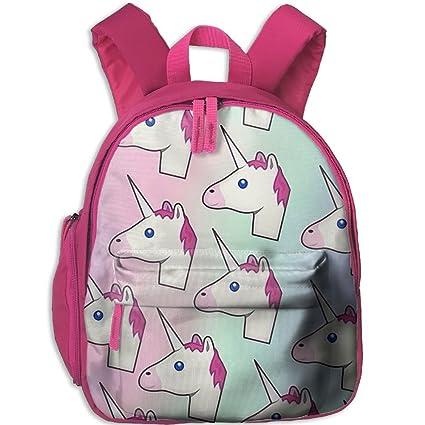"""HFIUH5 """"Unicornio Tumblr Papel Pintado Mochila Escolar Libro Bolsa Niños Niñas Mochila de Viaje"""