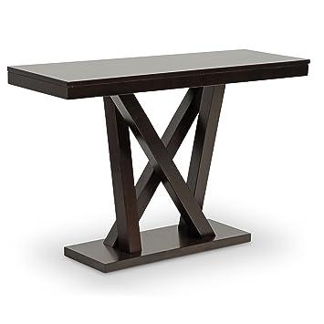 Amazon Com Baxton Studio Console Table Everdon Modern Sofa
