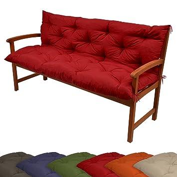 beautissu coussin pour banc de jardin terrasse balcon. Black Bedroom Furniture Sets. Home Design Ideas