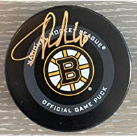 $119 » Tuukka Rask Boston Bruins Signed Autographed 2019 Official Game Hockey Puck