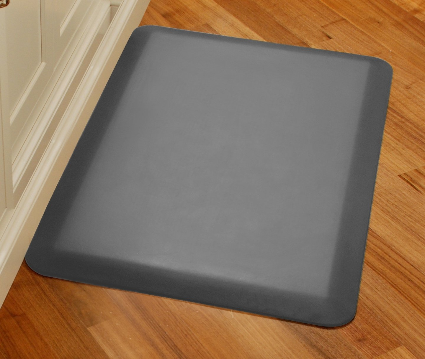 WellnessMats Original Anti-Fatigue Kitchen Mat, 36 Inch by 24 Inch, Grey