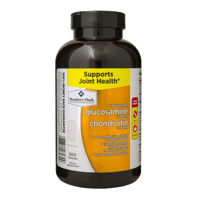 Members Mark Glucosamine Chondroitin Triple Strength Puritan Pride 90 Caps 300 Tablets Health Personal Care