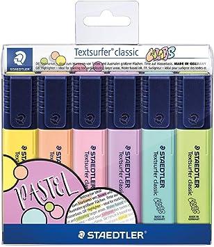 Amazon.com: Staedtler 364 CWP6 - Mechero de texto, diseño ...