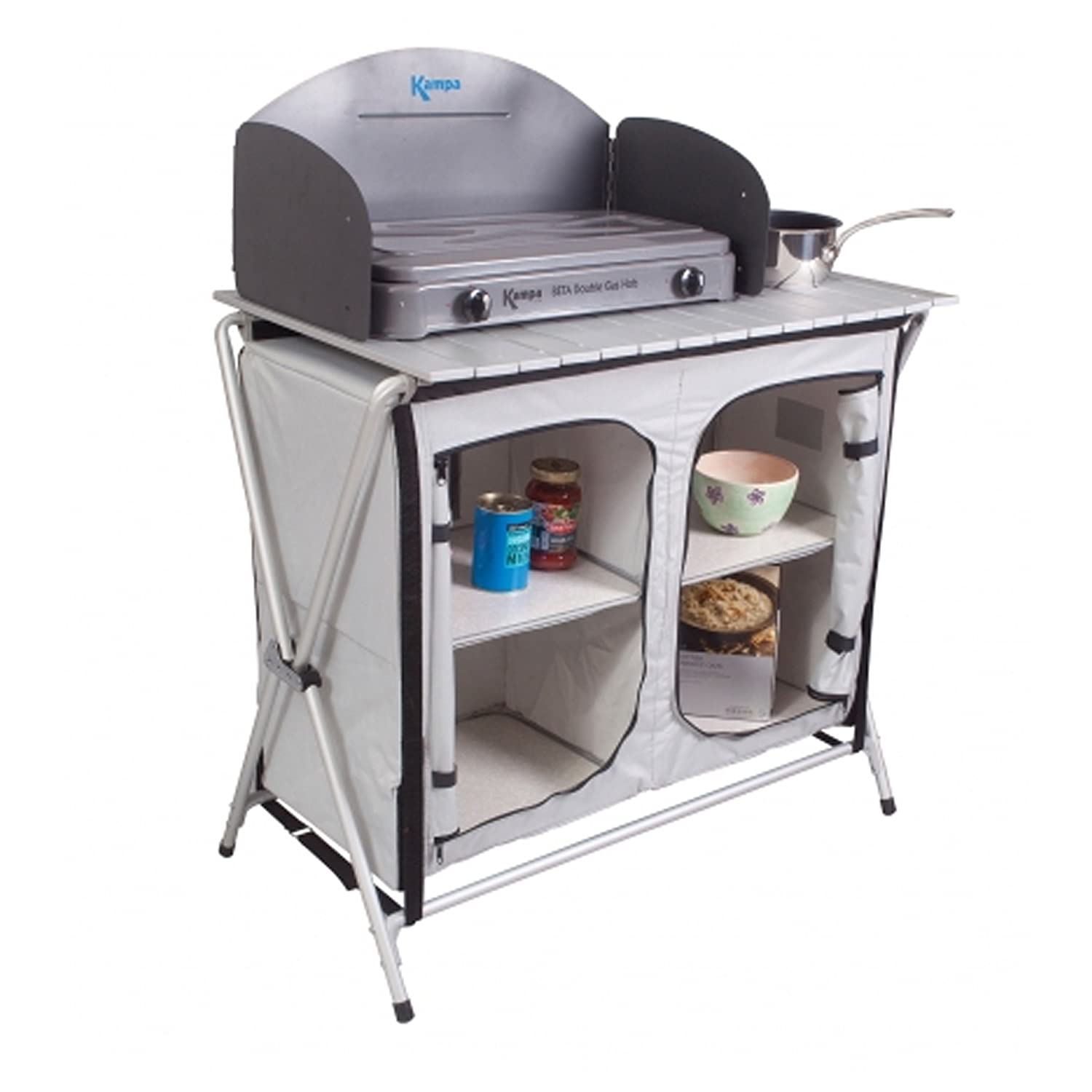 Kampa - Centurion Camping Field Kitchen: Amazon.co.uk: Sports & Outdoors