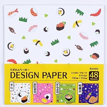Origamipapier Design Papier Washoku Japanisches Essen 15 Cm