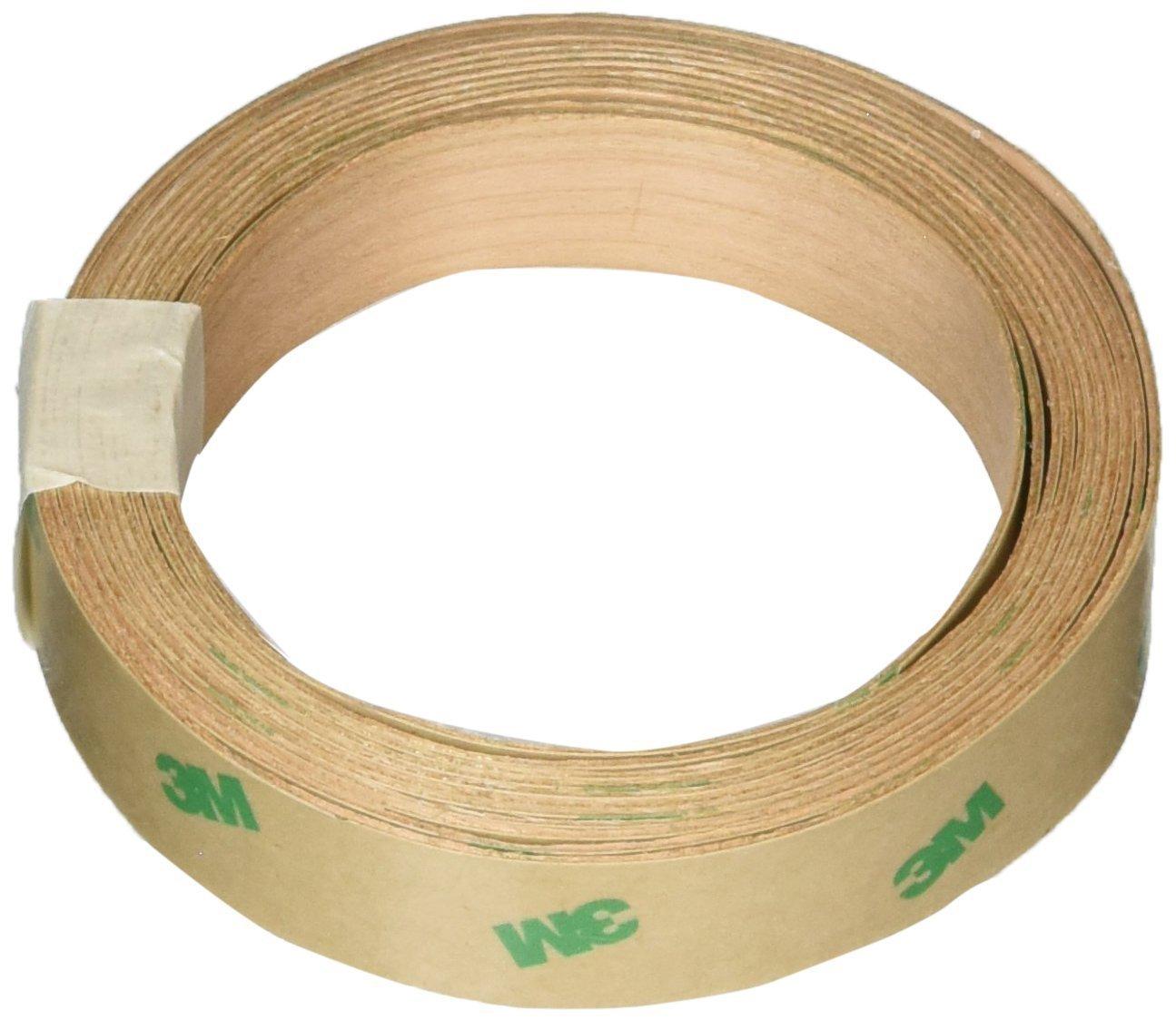 Band-It 12983 Peel-N-Stick Real Wood Veneer Facing, 12'' x 96'', Teak