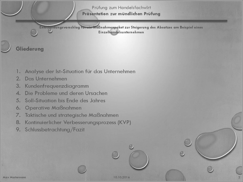 Handelsfachwirt Präsentation HFW – IHK Absatzsteigerung/Marketing ...