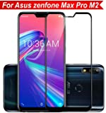 like it grab it Zenfone Max Pro M2 Tempered Glass Original Screen Protector 6D Curved Zenfone Max Pro M2 Screen Protector by Magic (Black)
