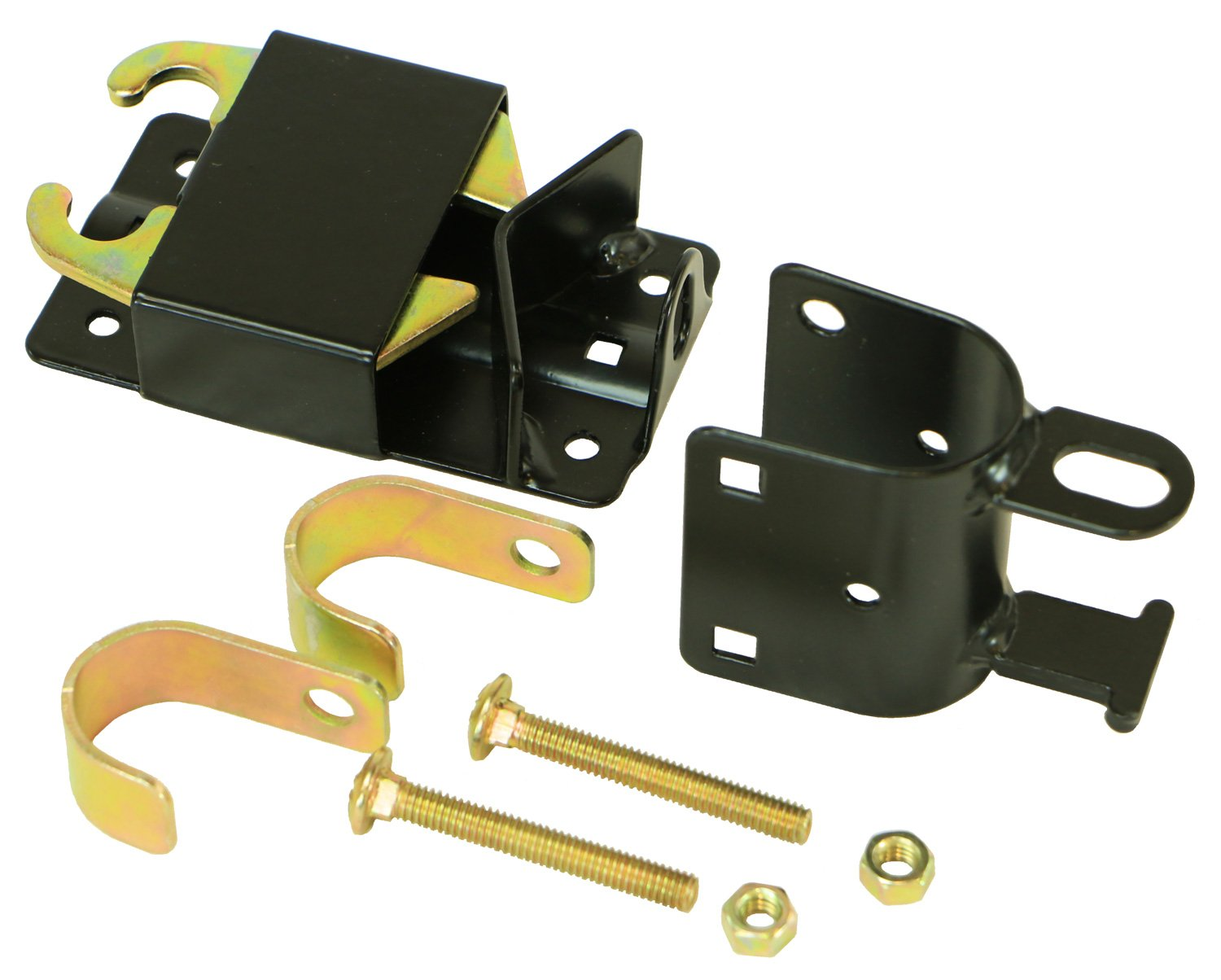 RanchEx 102551 Lockable Gate Latch - Outside Diameter for Round Tube Gates 2 Way 1-1/4'' to 1-1/2''
