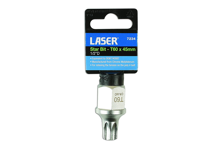Laser 7234 Tools-Star T60 Bit 1//2 D-7234