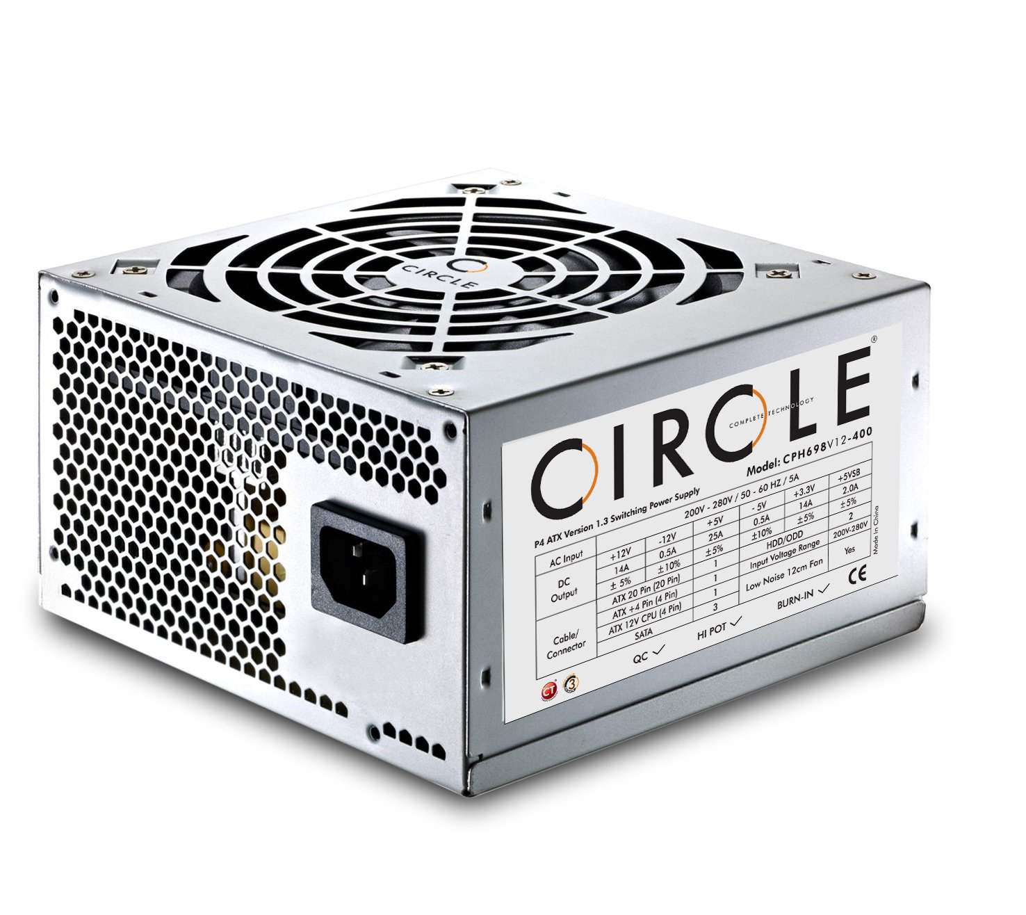 amazon in buy circle desktop power supply smps cph698 online at rh amazon in