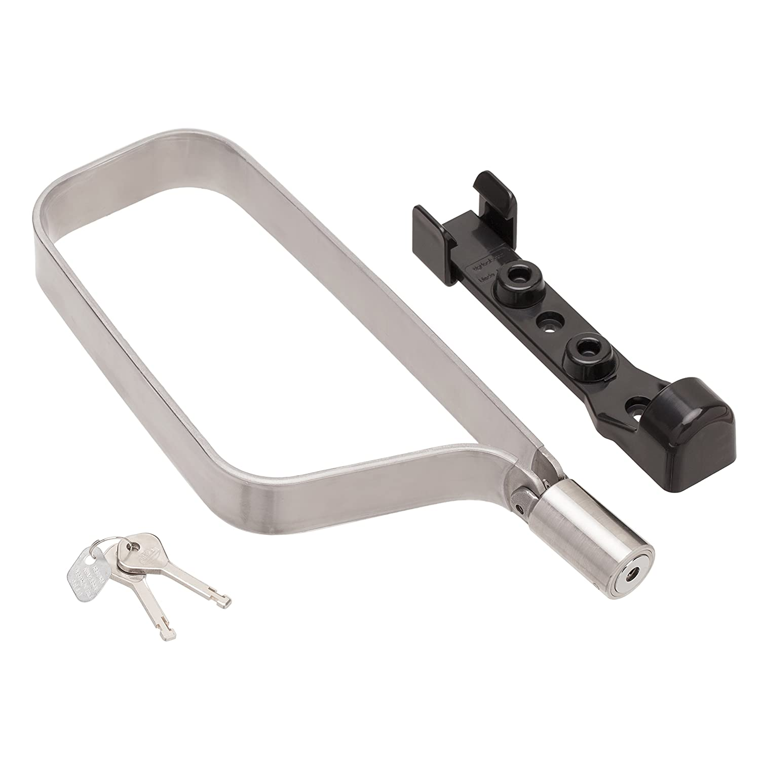 TiGr Mini Titanium Bike Lock Mounting Clip, Strong and Light Easy to Carry Bicycle Security