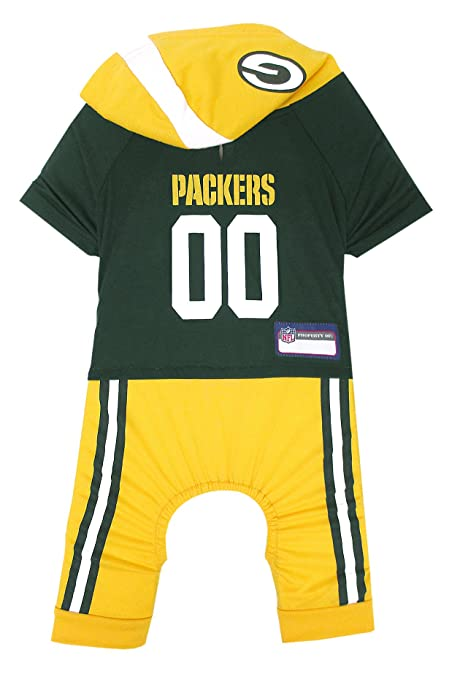 dec5e70273b NFL Green Bay Packers Pet Onesie, Size Medium. Cutest Pet Outfit for Any Pet