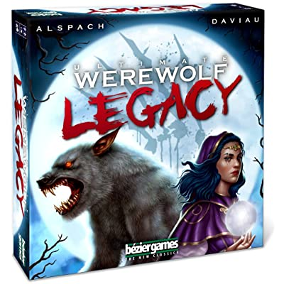 Bezier Games Ultimate Werewolf Legacy: Toys & Games