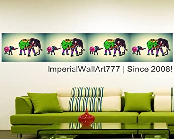 Amazon Com Imperialwallart777 Vintage Animal Photo Collage Elephant Print Wall Decal Poster Peel Stick Self Adhesive Vinyl Sticker Wallpaper Art Mural Large Size 288 Sports Outdoors