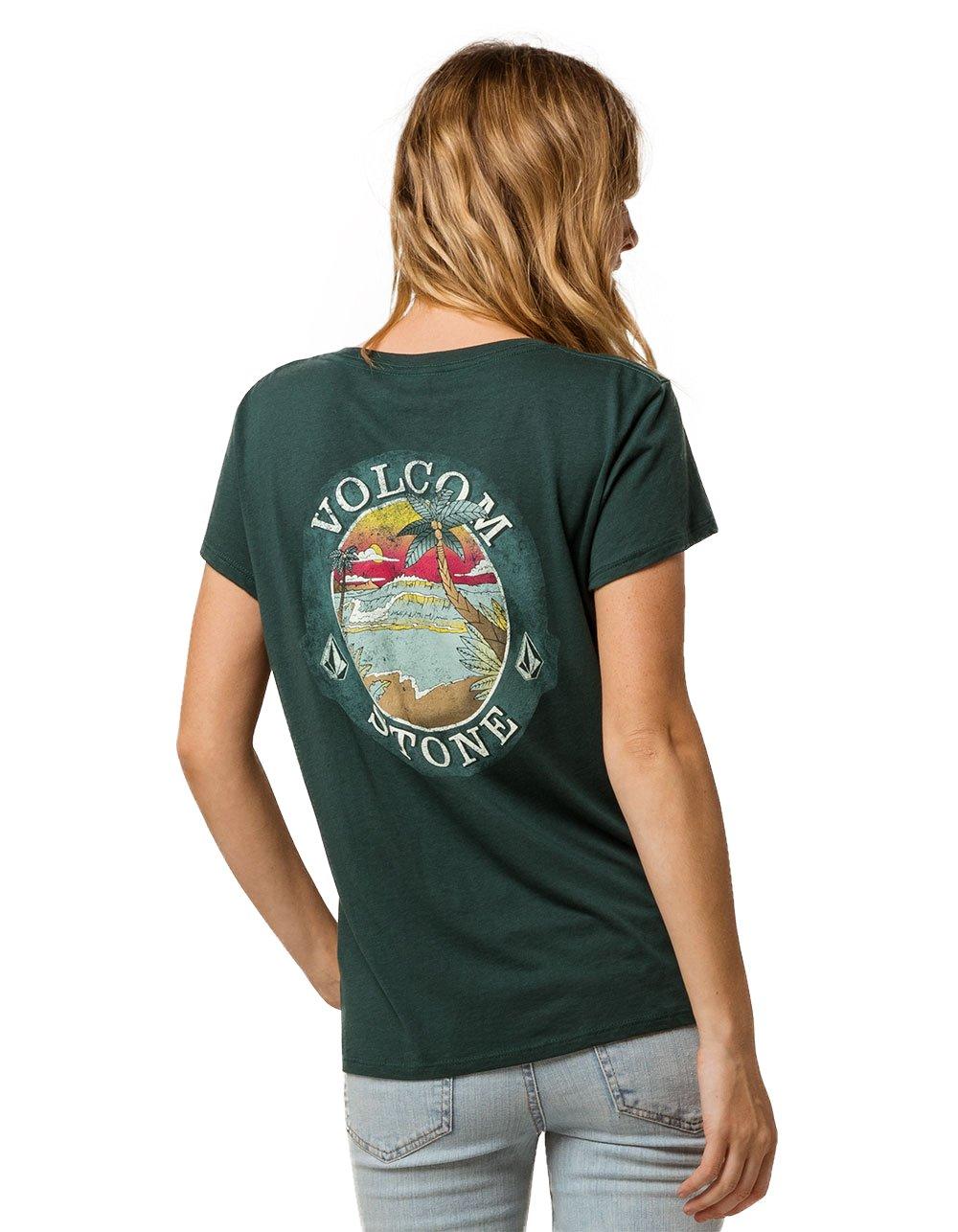 Volcom Beach Brews Tee, Green, Small
