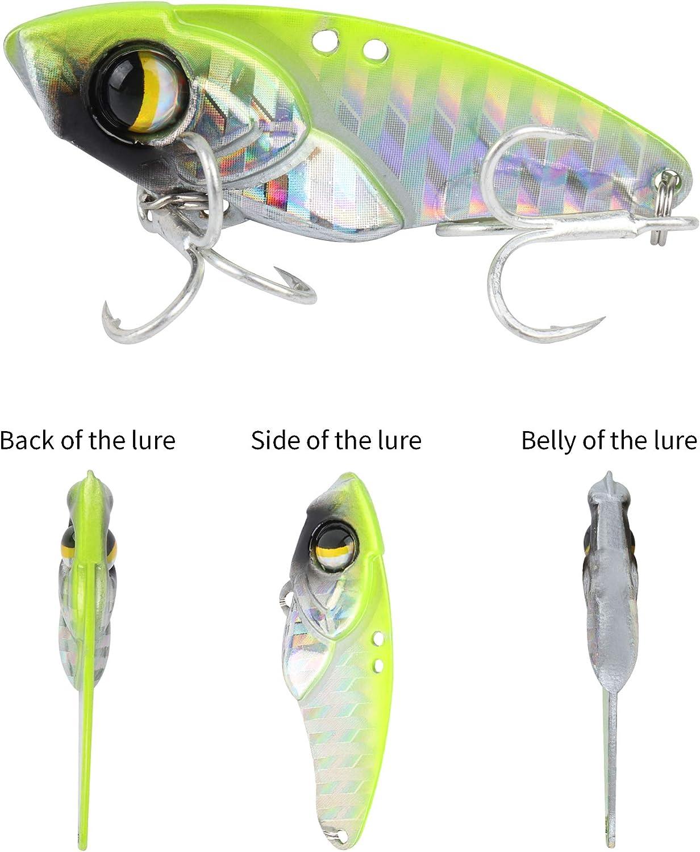 Details about  /VIB Spoon Jig Bait Feather Metal Fishing Lures Octopus Jigging fish bone