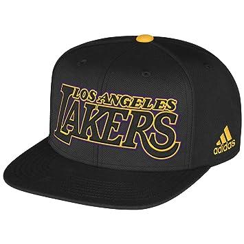 Adidas Los Angeles Lakers Adult 2013 NBA Draft Adjustable Snapback Cap