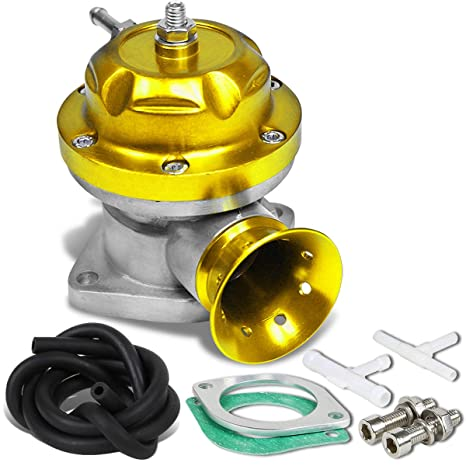 Universal Aluminum Type-RS Turbo Blow Off Valve BOV (Gold)