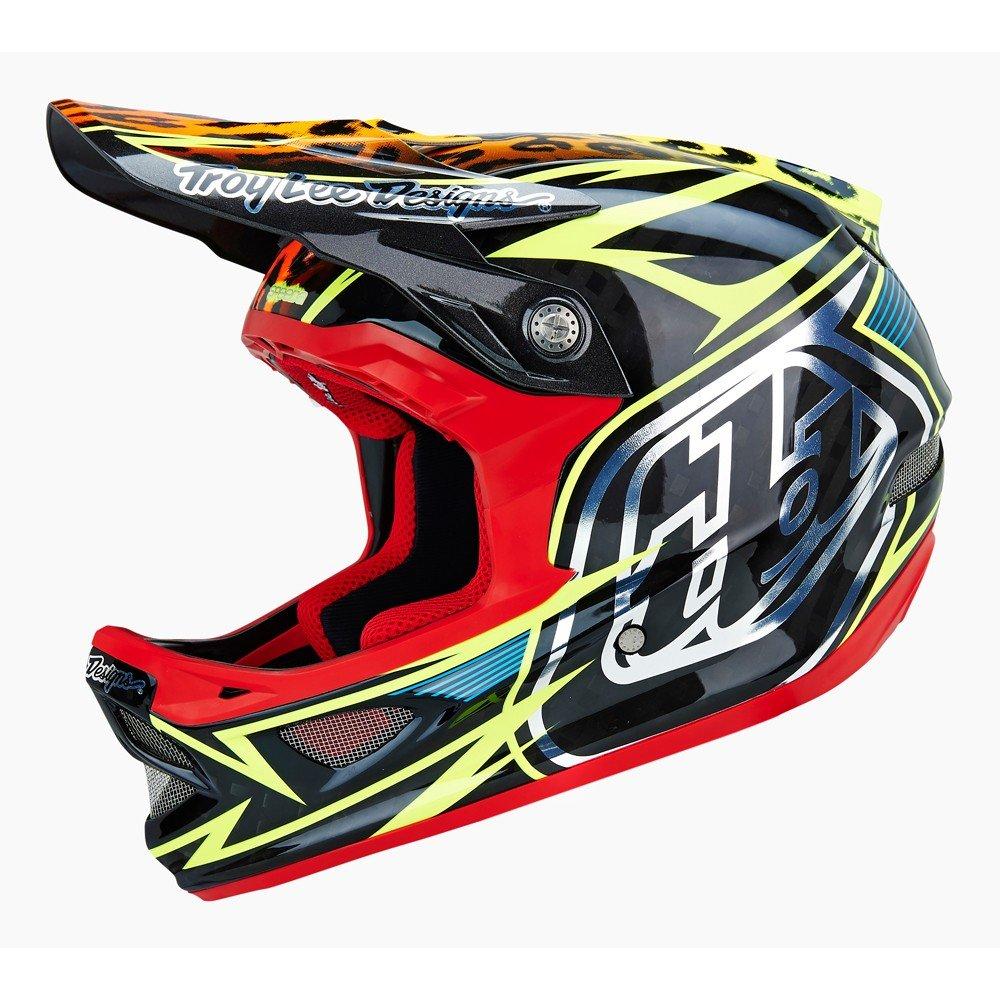 Troy Lee Designs D3 Speeda Carbon Off-Road/Dirt Bike Motorcycle Helmet - Yellow / X-Large