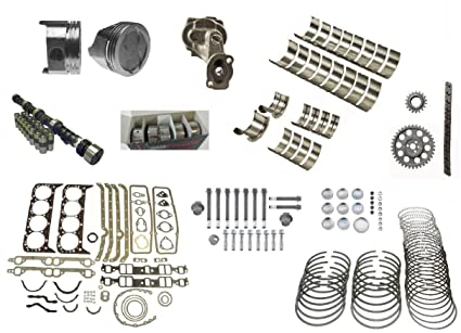 Amazon com: 67-85 Chevrolet 350 Master Engine Rebuild kit +