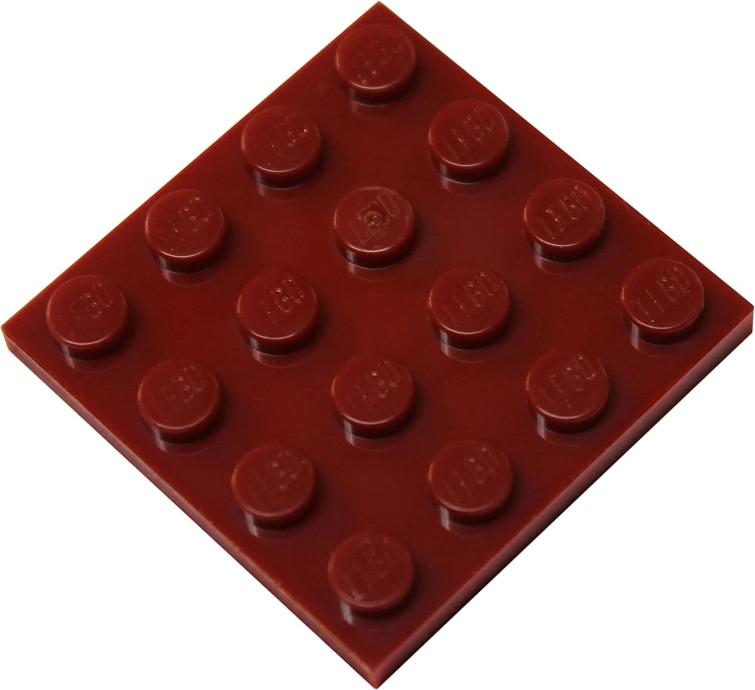 LEGO Parts and Pieces: Dark Red 4x4 Plate x100