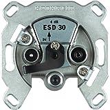 Kathrein ESD 30 Antennen-Steckdose 3-fach (TV, Radio, Sat, Einzelanschlussdose)