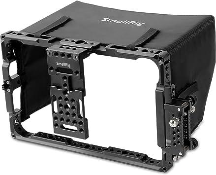 SMALLRIG Monitor Cage with Sunhood for ATOMOS Shogun Inferno, Ninja Inferno, Shogun Flame, Ninja Flame 7 inches Monitors - 2008
