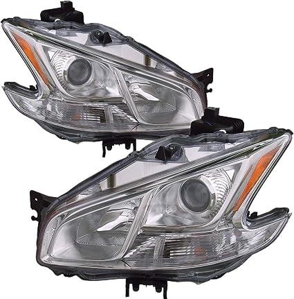 For 2009-2010 Nissan Maxima Fog Light Lamp PAIR Left Side Right Side