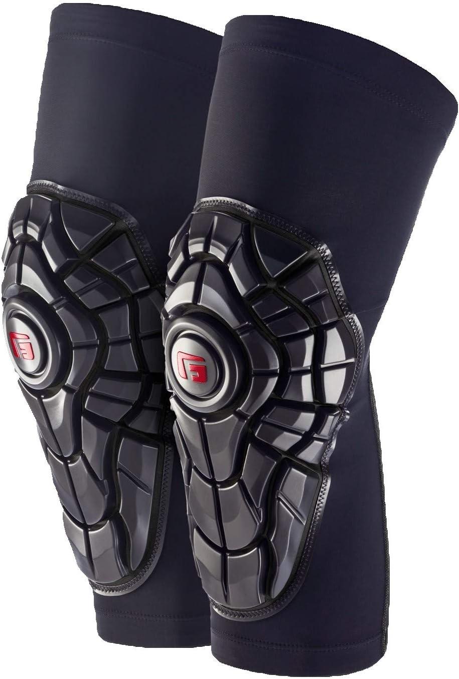 Black Topo G-Form Elite Bicycle Knee Shin Pad Size Medium