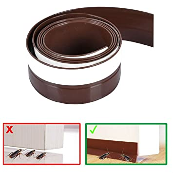 Under Door Sweep - Bottom Seal Weather Stripping draft stopper Energy Saving Bugs Stopper  sc 1 st  Amazon.com & Under Door Sweep - Bottom Seal Weather Stripping draft stopper ...