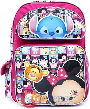 "New Disney I Love Tsum Tsum Large 16/"" Back to School Back Pack for kids"