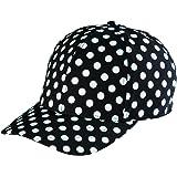 San Diego Hat Company Kid's Polka Dot 3-7 Years Cap Hat