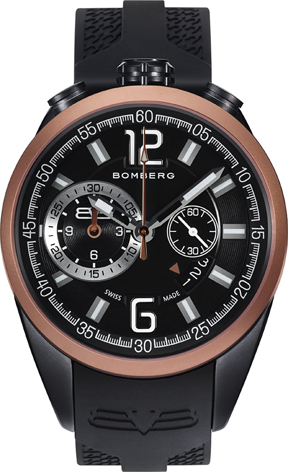 Bomberg NS44CHTT.0092.2 1968 collection Uhren - Swiss Made - 44 mm