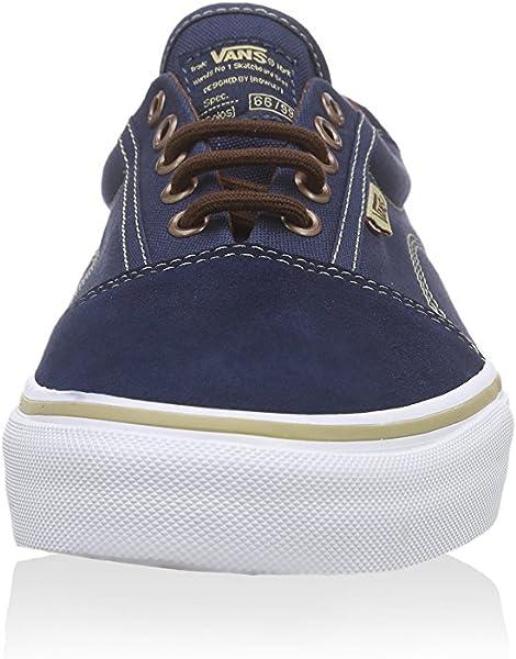 5c60e92746 Rowley Solos Dress Blues Brown Men s Classic Skate Shoes Size 7.5
