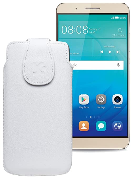 59b6ebda508 Suncase - Funda para/Huawei shotx/piel para móvil carcasa Case móvil ...