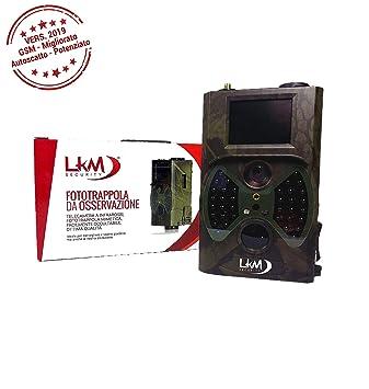 Cámara Infrarrojos, cámara Trampa, LKM Security® GPRS gsm MMS 12 ...