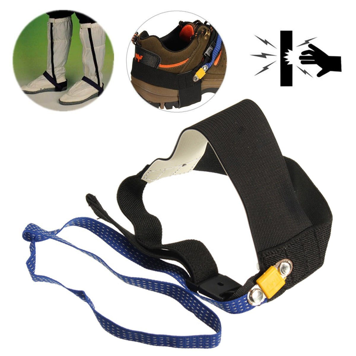 HOT Anti Static ESD Adjustable Foot Strap Heel Electronic Discharge Band Ground