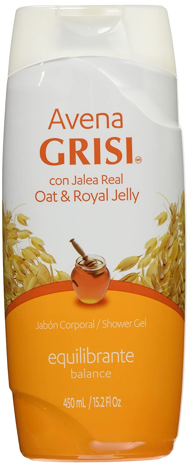 Amazon.com: Avena Grisi Con Jalea Real Oat & Royal Jelly Shower Gel/jabon Corporal Balance 450ml: Health & Personal Care