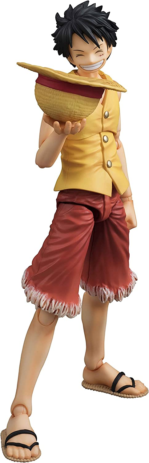 Megahouse Onepiece: Luffy Past Blue (Yellow Version) Variable Action Hero PVC Vinyl Figure