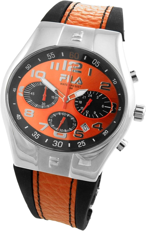 Fila Reloj analógico para Hombre de Cuarzo con Correa en Caucho 732365