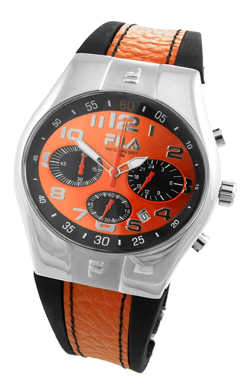Fila Herren-Armbanduhr Analog Quarz Kautschuk 732365