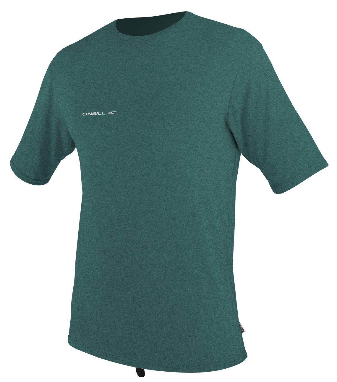 O'Neill Wetsuits Men's Hybrid UPF 50+ Short Sleeve Sun Shirt