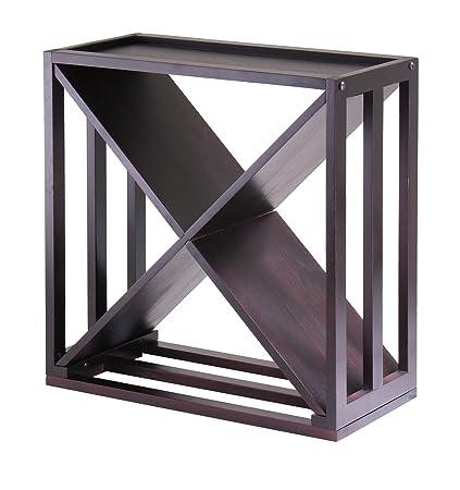 Winsome Wood Kingston X-Design Wine Storage Cube  sc 1 st  Amazon.com & Amazon.com: Winsome Wood Kingston X-Design Wine Storage Cube: Home ...