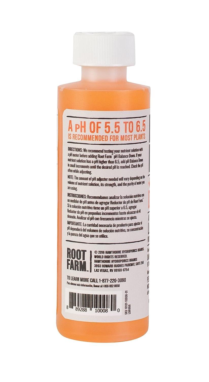 Root Farm Ph Balance Down for Hydroponic Plants, 8oz