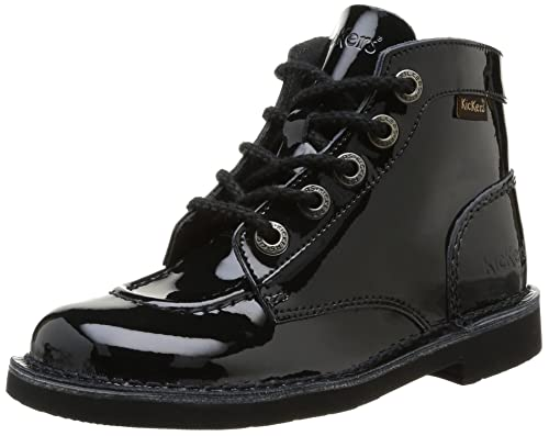 b1d66f9a88aa47 Kickers Kick Col Perm, Girls' Boots: Amazon.co.uk: Shoes & Bags