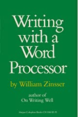 Writing with a Word Processor Kindle Edition
