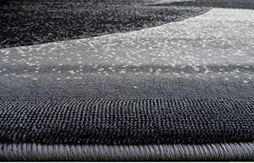 Modern Area Rug Design G24 Grey 5 Feet X 7 Feet