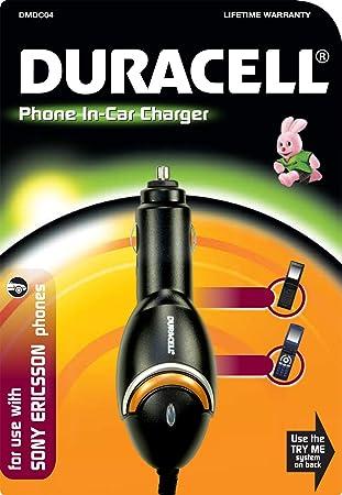 Duracell - Cargador de coche para móviles Sony Ericsson