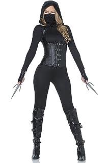 1c9f6721a5 Amazon.com  Fun Costumes Exclusive Women s Ninja Assassin Costume ...